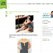 Lime Ricki Swimwear Blog